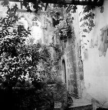 KORČULA c. 1960 - Maison Natale Marco Polo Yougoslavie - Négatif 6 x 6 - YOUG 20
