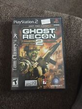 Tom Clancy's Ghost Recon 2 (Sony PlayStation 2, 2004) Case And Manual Only.