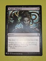 Night's Whisper x1 Eternal Masters Mystery Booster 1x MTG Magic the Gathering