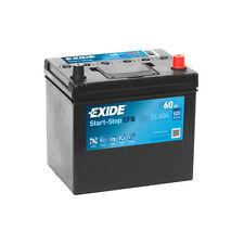 1x Exide Stop Start 60Ah 520CCA 12v 005 EFB Car Battery 4 Year Warranty - EL604