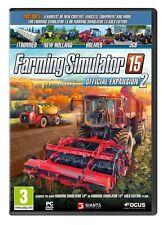 Farming Sim 15 Expansion 2 (PC DVD) BRAND NEW SEALED