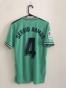 Sergio Ramos #4 Real Madrid 2019/20 Medium 3rd LFP Shirt Jersey Adidas BNWT