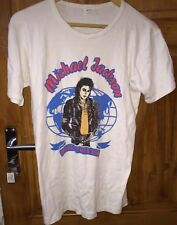 Michael Jackson World Tour 1988 T-shirt taglia XL MOLTO RARA VINTAGE