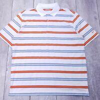 Nike Golf Tour Performance Polo Shirt Mens XL White Dri-Fit Short Sleeve P27