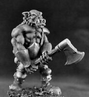 1 x BULL ORC BERSERKER - WARLORDS REAPER miniature d&d jdr rpg 2H axe 14404