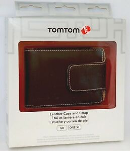 NEW GENUINE TomTom GO 500S GPS Leather Carry Case BLACK 30 40 50 720 730 920 930