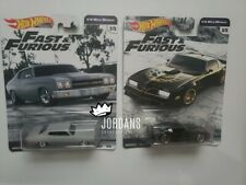 2019 Hot Wheels Fast & Furious  '70 Chevelle Pontiac Firebird - Arrves 4 X-mas