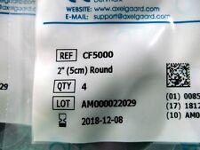 "8 Axelgaard ValuTrode CF5000 2"" Round Fabric Top Electrodes Tens 2 pk/4ea.Tot.8"
