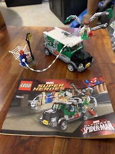 Lego Marvel Doc Ock Truck Heist 76015