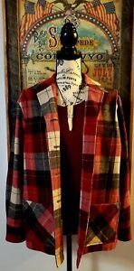 'Pendleton' Retro Look Shirt Jacket  Sz (S roomy)  Gorgeous !!!