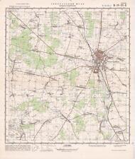 Russian Soviet Military Topographic Map – BIELSK PODLASKI (Poland), ed. 1976