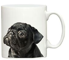 New Black Pug print mug printed puppy toy dogs cup dog gift puppies coffee mugs