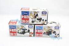Tomica Takara Tomy Disney Motors DM-04,12,09 Mickey Mouse Police Car Set Japan
