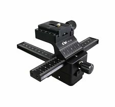 JJC FC-1II Macro Focusing Rail 13cm for Camera DSLR position adjust Stabilizers