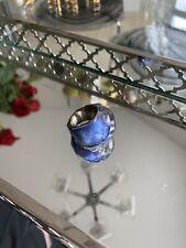 Swarovski Blue Crystal Ring.