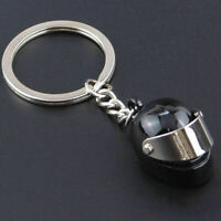 Helmet Key ring Key chain Car Motorbike Scooter Motorcycle Keyr Biker Sport F3B6