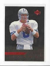 1999 Upper Deck Quarterback Class #QB15 Troy Aikman Cowboys