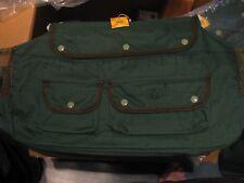 "Smi Canvas Creel 4 Pocket 17"" x 11"" Freshwater Fly Fishing Tackle Bag & Strap"
