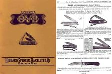 Hibbard Spencer and Bartlett Co. c1890 Cutlery Catalog (Chicago)