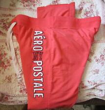 Aeropostale Womens NY Logo Sweatpants Pants XL-Coral-Guaranteed Authentic!