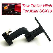 Adjustable CNC Aluminum Metal Bumper Tow Trailer Hitch Fr Axial SCX10 RC Crawler