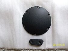 Harley derby cover-inspection cover-sportster-nightster-WRINKLE BLACK-04-2007
