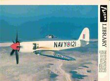"""Hawker Seafury in Canadian Livery Flightcolour 179 Digital repro 9.5""""x7.25"""" Phot"""