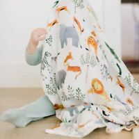 Baby Blanket Cotton Newborn Swaddle Stroller Cover Muslin Play Mat Bedding Quilt