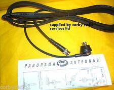 M8 PANORAMA BODY MOUNT BNC CABLE ASSEMBLEY 5MTS TAXI PMR  MARINE  STANDARD NEW