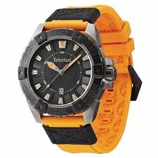 Timberland TBL-13865JSUB-61 Gent's Orange Strap Black Dial Watch