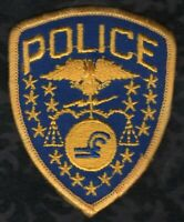 "👀😆😜👍  Conrail Pennsylvania Railroad CAP Police Patch  2-1/2"" x 3"""