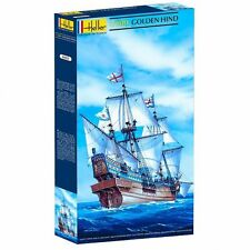 MODEL KIT - HEL80829 - Heller 1:200 scale - Golden Hind famous historical ship