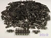 LEGO Technik - 200 x Kettenglied breit schwarz / Black Link Tread / 3873 NEUWARE