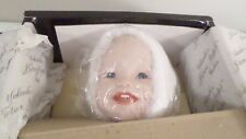 "1987 Knowles Yolanda's Picture Perfect Babies JENNIFER 14"" Porcelain Doll w/ COA"