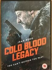 COLD BLOOD LEGACY DVD - Jean Reno:You can't outrun the past... Region 2 FREE PP