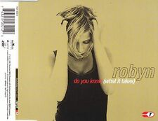 cd-single, Robyn - Do You Know (What It Takes), 4 Tracks, Australia
