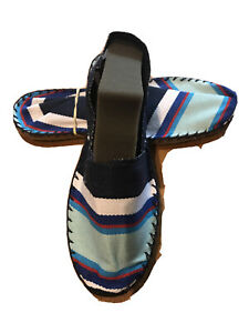 espadrille HASPARREN sandale mixte made in france pays basque 39 NEUF