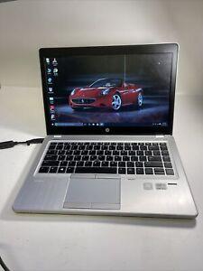 """HP EliteBook Folio 9480m 14""""Intel i5-3427U 2.30GHz 6GB RAM 500GB SSD Win 10 Read"""