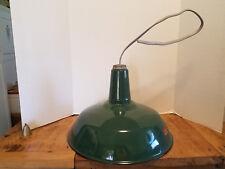 "Antique Porcelain Enamel Garage BARN GAS STATION LIGHT SILV-A-KING 15 3/4"" x 12"""