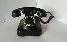Grand Phone Rotary Dial Black Telephone