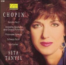 CHOPIN: SONATA NO. 2; ANDANTE SPIANATO AND GRAND POLONAISE NEW CD