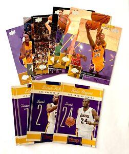 2009 Upper Deck & 2010 Classics Lakers team sets Kobe Bryant, Gasol, Odom