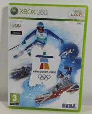 Vancouver 2010 Winter Olympics offizielle Videospiel Xbox 360 Game Disc NEAR MINT