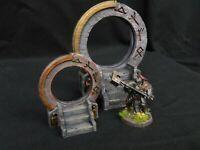 Arcane/Elf gate/portal (Dungeons and dragons, warhammer, age of Sigmar, Frostgra