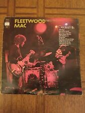 Fleetwood Mac Greatest Hits British Import Vinyl Record 1970 VG/MINT