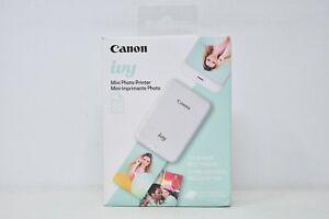 【NEW SEALED】 Canon Ivy Mini Photo Printer (3204C002) Mint Green + 10 Photo Paper