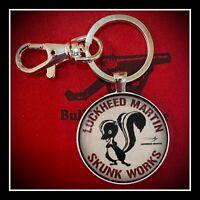 Lockheed Martin Skunk Works Sign Photo Keychain Gift 🎁