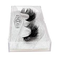3D Mink Full Volume Eyelashes Cross Long Thick False Eye Lashes Extension Makeup