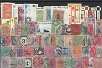 mixed world mainly commonwealth country stamps ref r11248