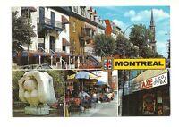 LA RUE SAINT DENIS STREET, MONTREAL, QUEBEC, CANADA CHROME POSTCARD